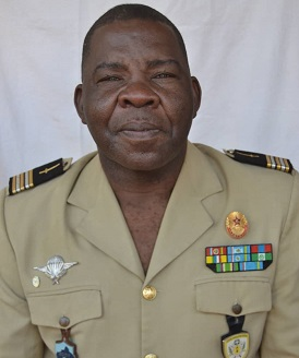 Lt. Colonel Georges KAZANGBA